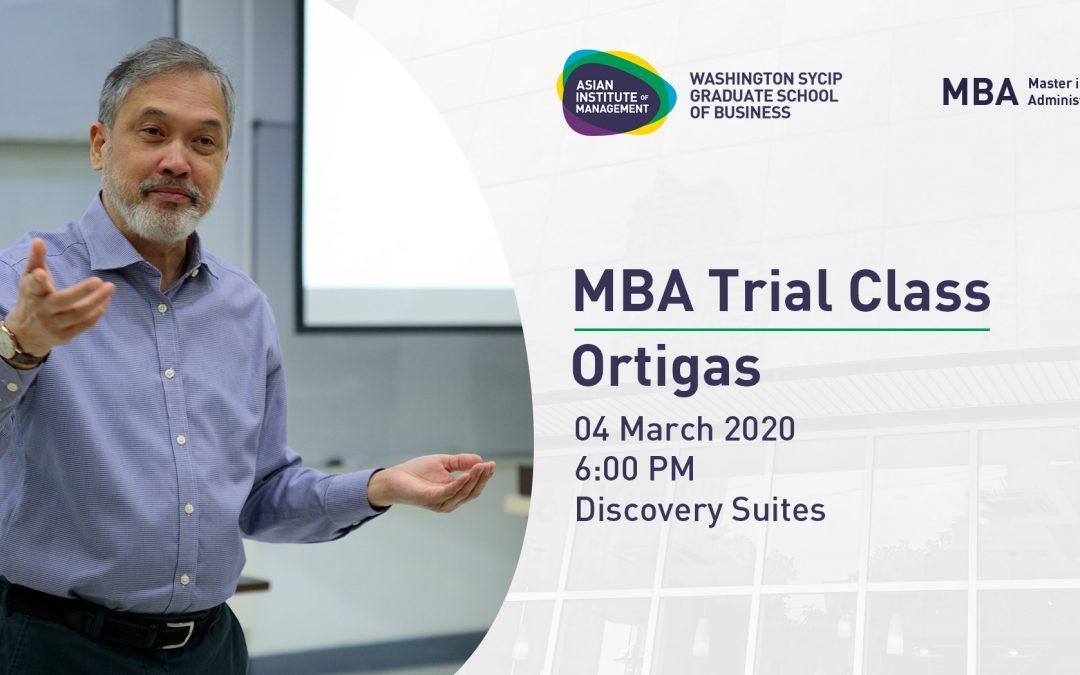 MBA Philippines Roadshow | Ortigas