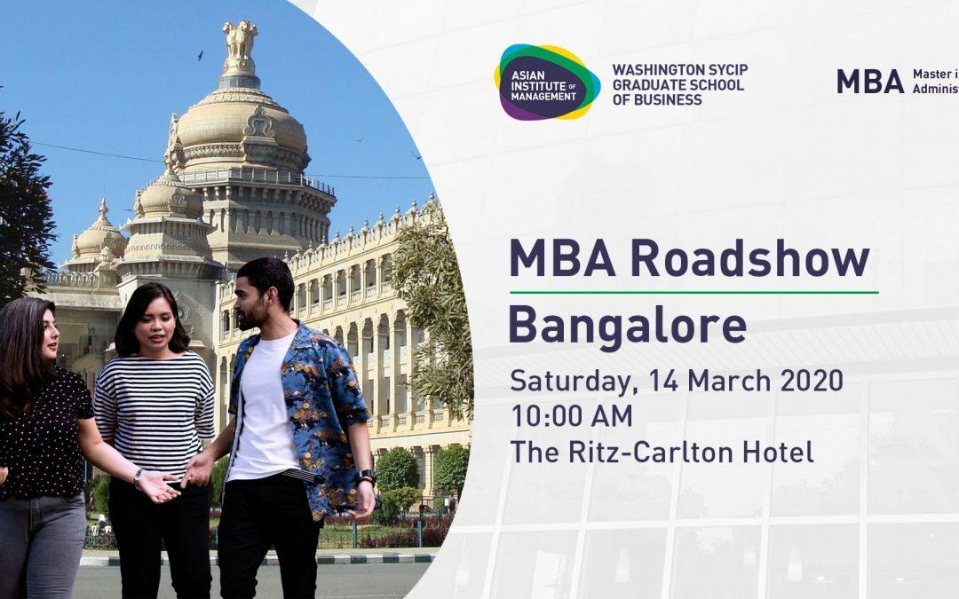 MBA International Roadshow | Bangalore