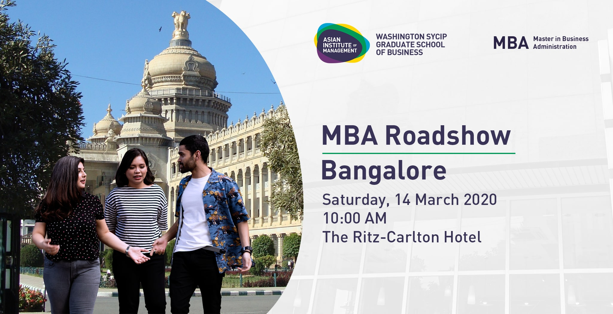 MBA Roadshow Bangalore