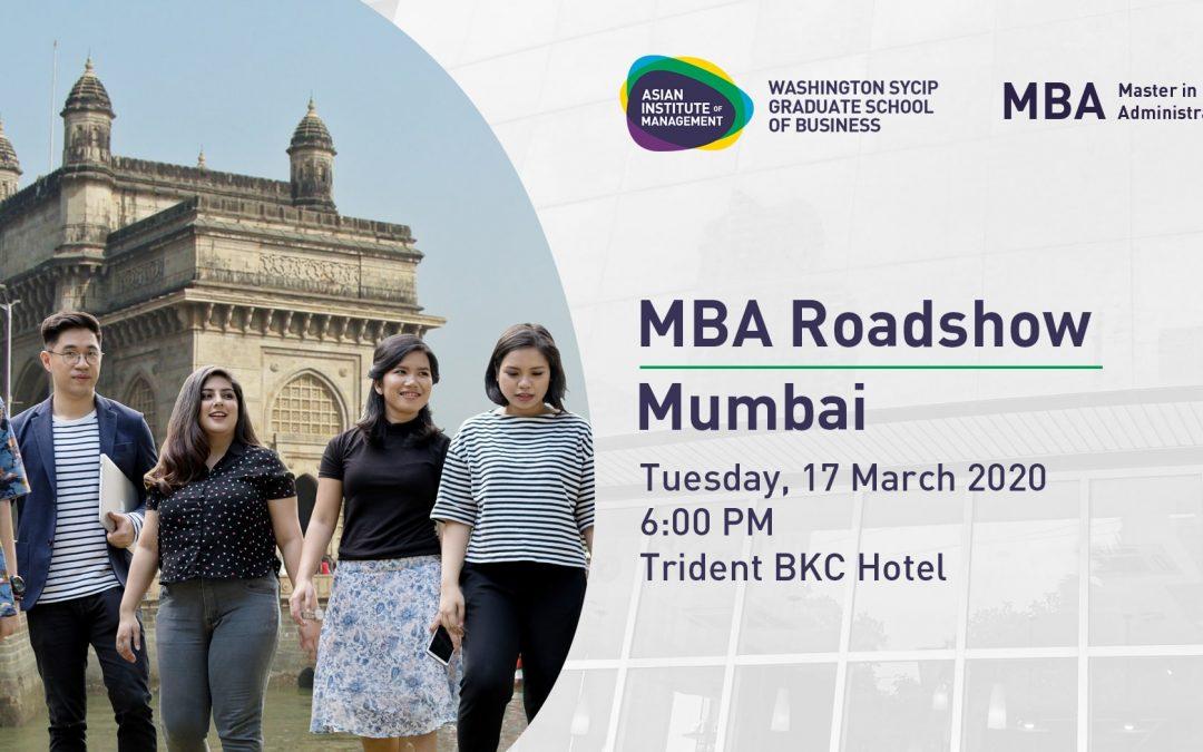 MBA International Roadshow | Mumbai
