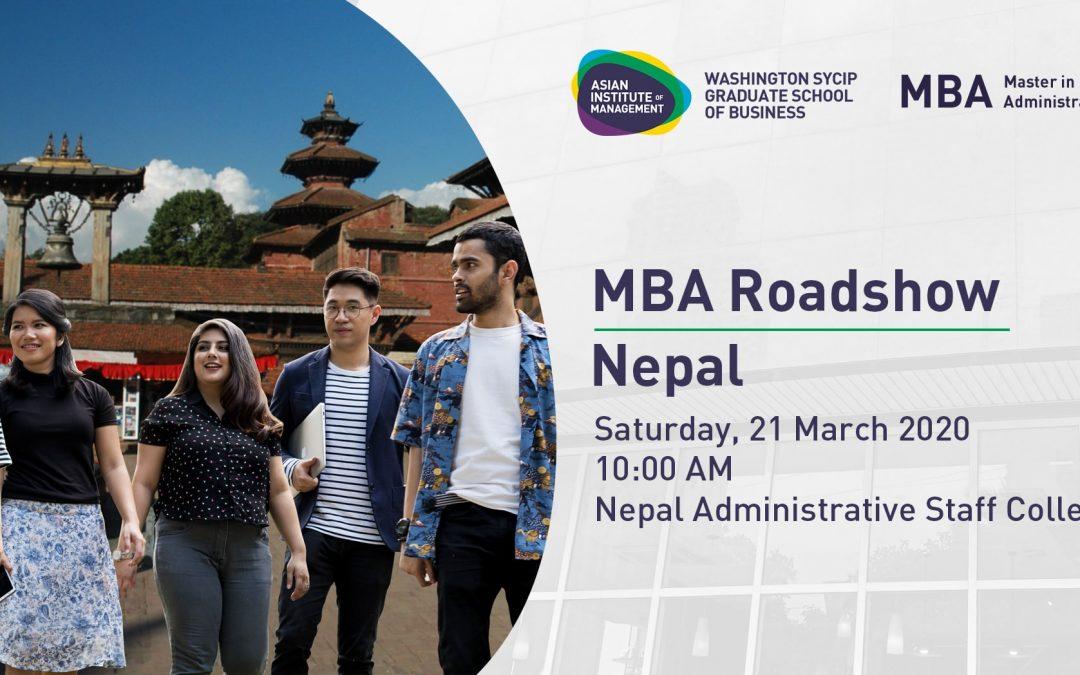 MBA International Roadshow | Nepal