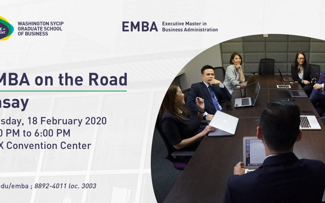 EMBA on the road | Pasay