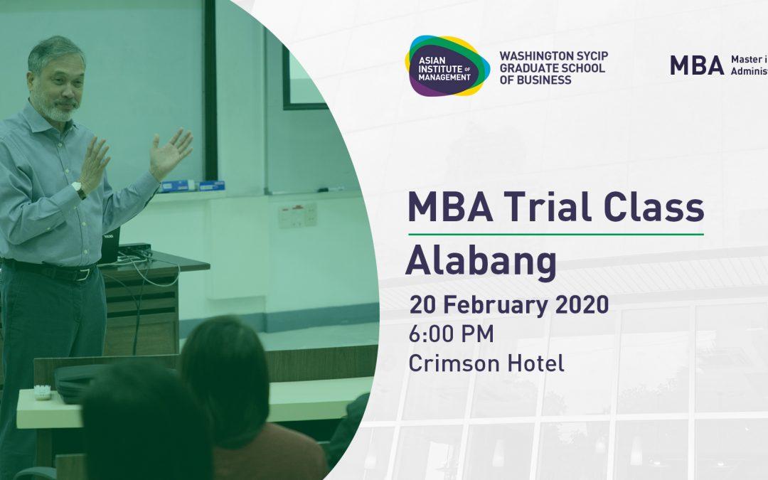 MBA Philippines Roadshow | Alabang