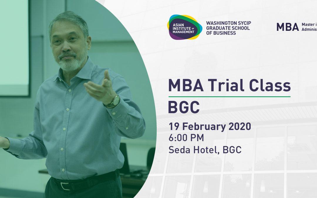 MBA Philippines Roadshow | BGC