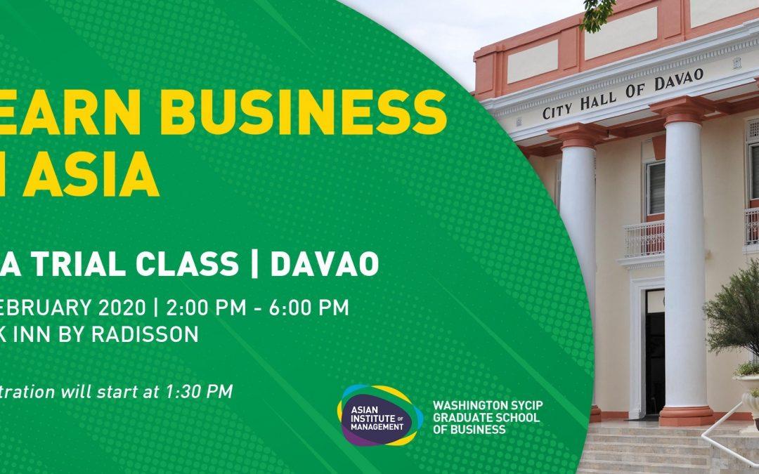 MBA Philippines Roadshow | Davao